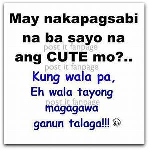 funny tagalog quotes | Image credit to Post it fanpage on ...