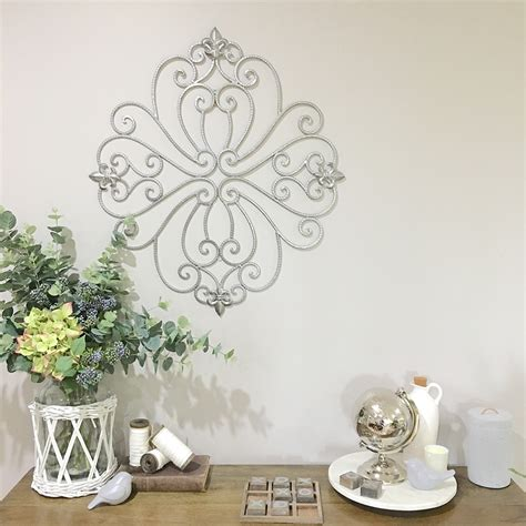 decorative curled metal wall panel garden screen wall