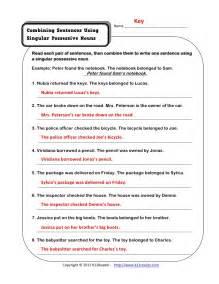 Possessive Singular Noun Example Sentences