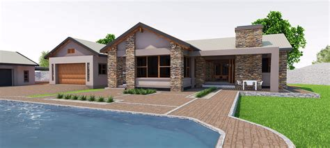 R Clark Home Design : South African House Designs