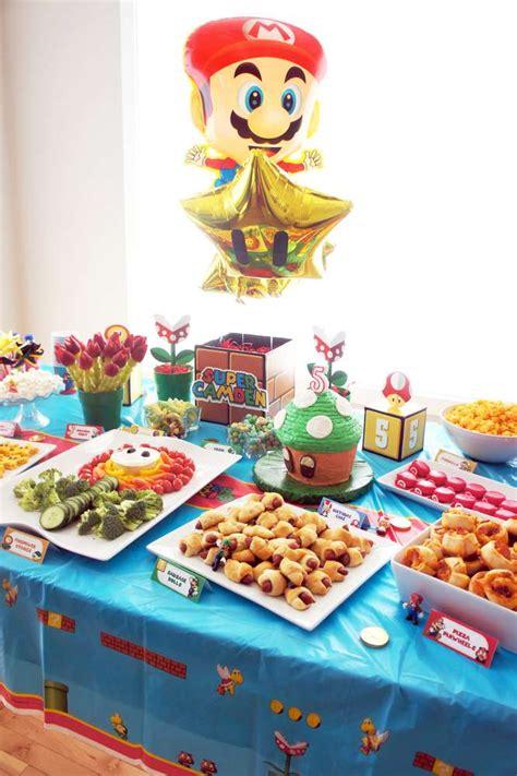 super mario bros birthday party ideas photo