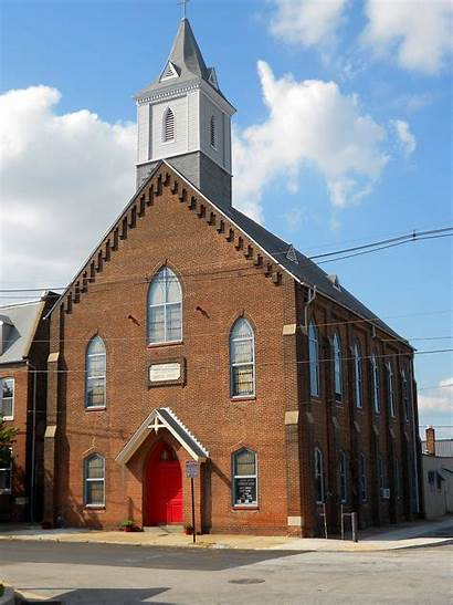 Church Christ German United Baltimore Locust Point