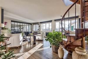 Appartement Contemporain : ville d 39 avray appartement contemporain avec toit terrasse et vue agence ea paris ~ Melissatoandfro.com Idées de Décoration