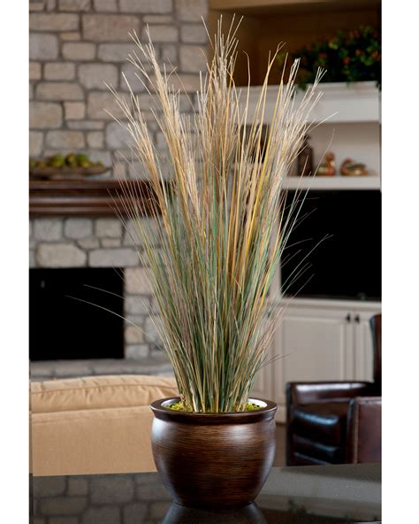 Tall Flower Stands For Centerpieces by Coastal Grass Silk Planter For Your Home Interior At Petals