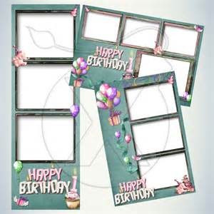 Birthday Photo Booth Templates Free