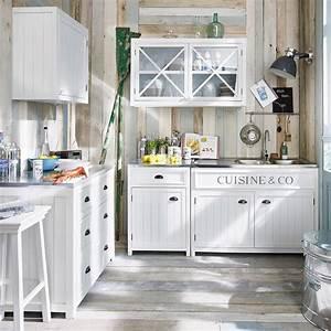 Cucina Maison Du Monde Con Isola Centrale Arredamento Shabby