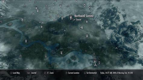 northwind summit  elder scrolls  skyrim wiki guide