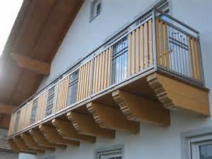 edelstahl balkone balkon aus edelstahl und holz elementen aus dem bayerischen wald