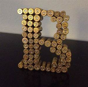 simply extraordinary diy letter decor here to enhance the With gun letter art