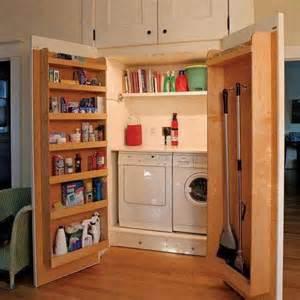 Murphy Bed Office Desk Combo by Secret Laundry Room Ideas