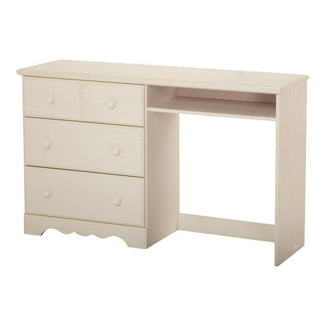 toddler desk canada south shore bureau de travail 3 tiroirs blanc antique