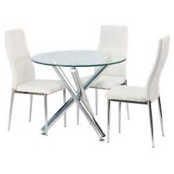 Round Dining Room Tables For Sale by Demi 90cm Round Glass Top Dining Table Decofurn Factory Shop