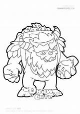 Yeti Clash Clans Draw Coloring Pages Easy Pikachu Cute Drawings Drawitcute Christmas sketch template