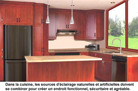 cuisine lumiere eclairage naturel et artificiel fonctionnel pour la cuisine