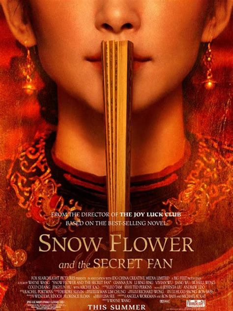 snow flower and the secret fan sparknotes snow flower and the secret fan film 2011 allociné