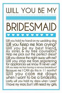 Quotes for wedding bridesmaid quotesgram for Will you be my bridesmaid letter template