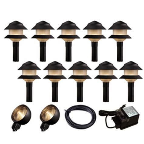 shop portfolio black path light kit at lowes
