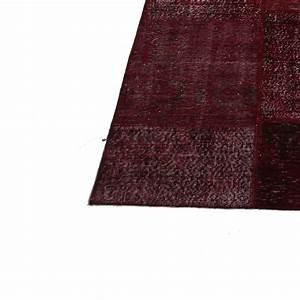 bordeaux rouge vintage tapis de patchwork 304x410cm With tapis couleur bordeaux