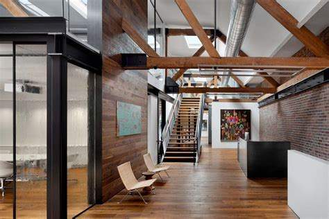 modern industrial office interior design wonderful warehouse office space that was originally a Modern Industrial Office Interior Design