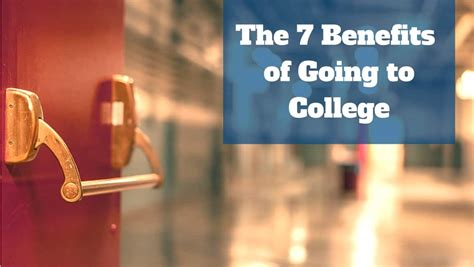 benefits    college earning  degree