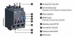 Motor Wiring Diagram Furthermore Thermal Overload Relay  Motor  Free Engine Image For User