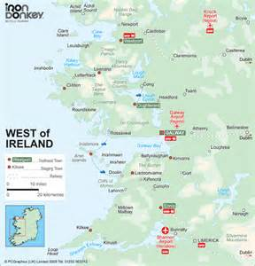 Galway Bay Ireland Map