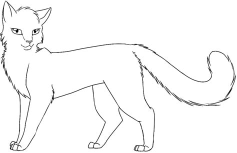 warrior cat template warrior cat coloring pages to and print for free