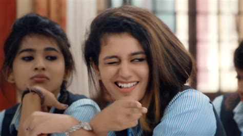priya prakash varrier first film priya prakash varrier steals the show again in oru adaar