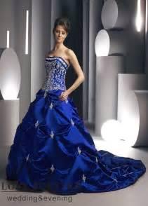 royal blue dress for wedding beautiful photos of royal blue wedding dresses sangmaestro