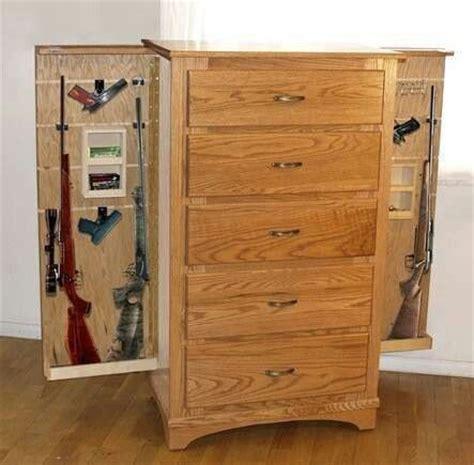 cool storage furniture awesome hidden gun cabinet idea gun case in home pinterest