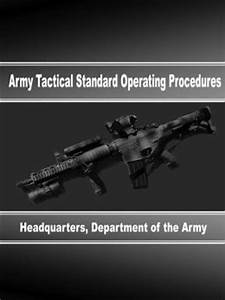 Army Tactical Standard Operating Procedures by Department ...