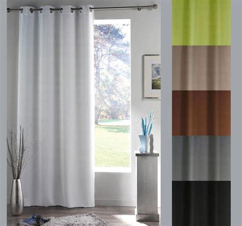 rideau panneau pour fenêtre 140 x 180 cm illets occultant
