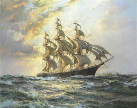 Willow Boat Painting by Sailing Ship Paintings Painting