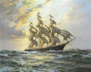 Famous Sailing Ship Paintings | ... Art Oil Painting ...