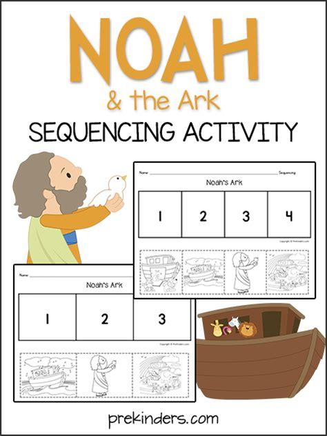 noahs ark sequencing activity prekinders