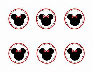 Minnie mouse cupcake topper templates   Baby Shower Ideas ...