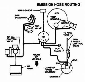Gm Throttle Body Diagram 1985