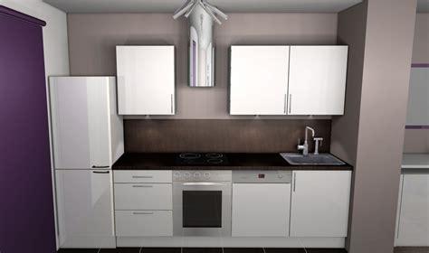 cuisine couleur blanche decoration cuisine blanc