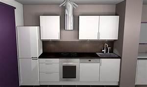 stunning cuisine blanc mur gris et rouge contemporary With decoration cuisine rouge gris