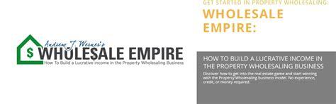 april  wholesale real estate