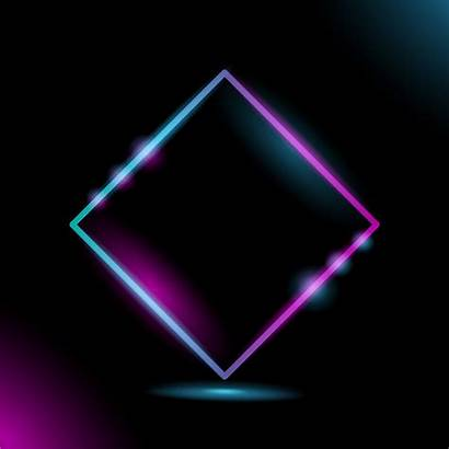 Neon Frame Geometric Vecteezy Graphics Clipart Muhammadrizky