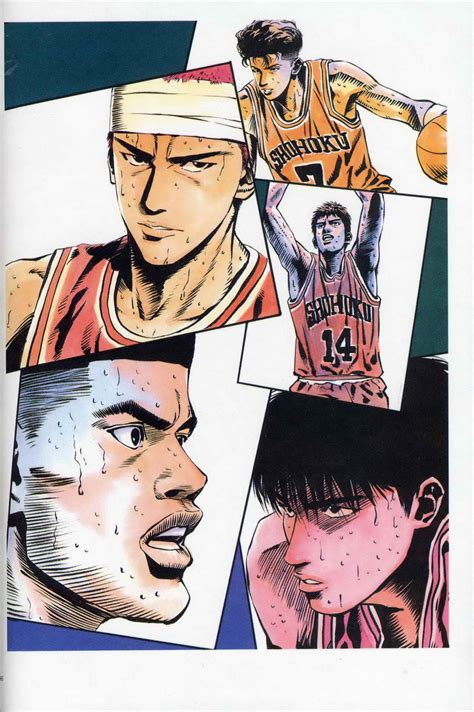 landscape wallpaper spectrum nexus slam dunk artbook image 88 of 113