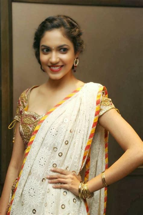 indian film actress ritu varma  saree  indian