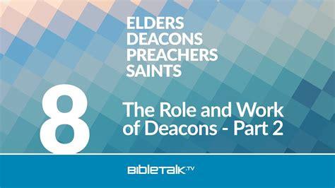 role  work  deacons part  bibletalktv
