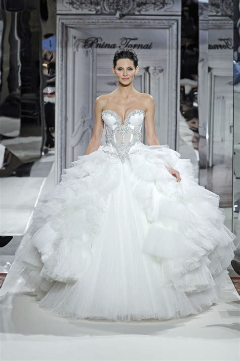 Pnina Tornai For Kleinfeld 2014 Wedding Dresses  Weddingbells. Champagne Colored Wedding Dresses Uk. Casual Wedding Dresses Sunshine Coast. Modern Hip Wedding Dresses. Red Dress Wedding Cake Toppers. Strapless Wedding Dresses Jewelry. Wedding Dress Lace Embroidery. Panina Wedding Dresses 2012. Short Wedding Dresses In Canada