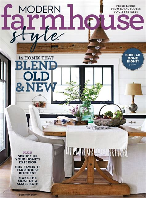 Topmost Modern Farmhouse Style Magazine Excellent