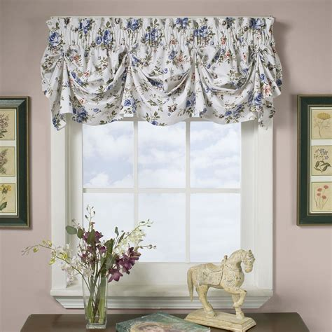 lush decor blue royal garden valance blue living room