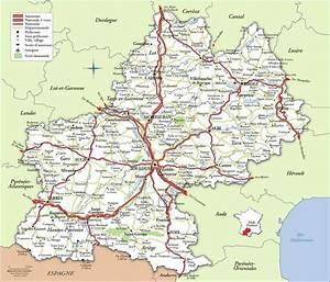 Carte Du Gers Détaillée : carte de midi pyr n es plusieurs cartes de la r gion du sud de la france ~ Maxctalentgroup.com Avis de Voitures