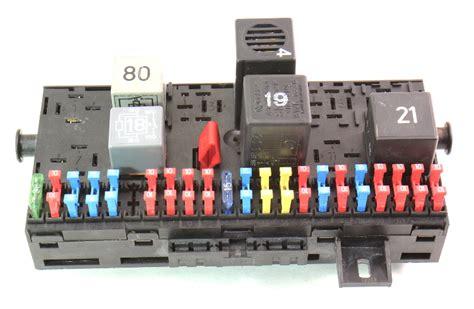 Mk1 Golf Fuse Box Location by Fuse Box Fuse Block Fusebox 85 92 Vw Jetta Golf Gti Mk2