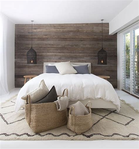 ideas  plank wall bedroom  pinterest master bedroom wood wall plank walls